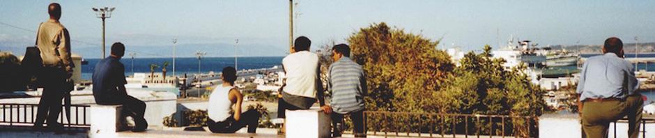 Tanger - Blick nach Europa